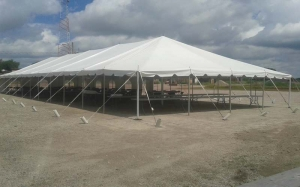 30 Foot Wide Pole Tent