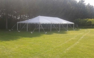20 Foot Wide Pole Tent